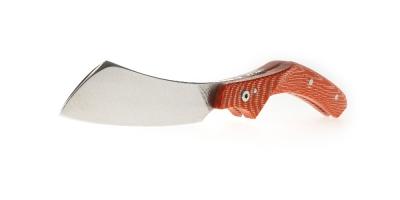 Le phasme folding knife - red micarta