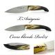 L'ariégeois folding knife and RWL34